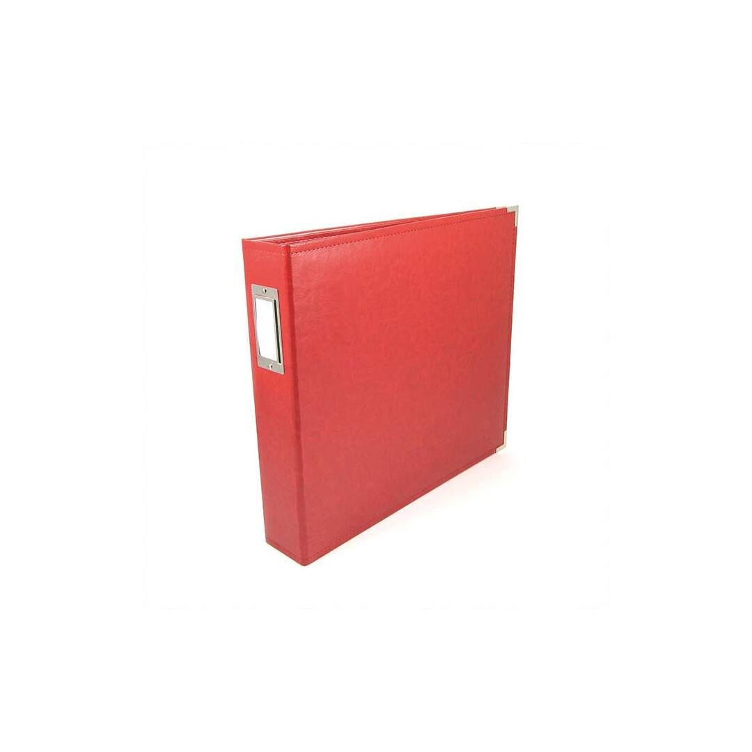 Scrapbook Album 12 x 12 - Real Red