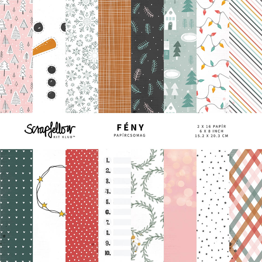 FÉNY - KitKlub™ - Papírcsomag 6x8 inch