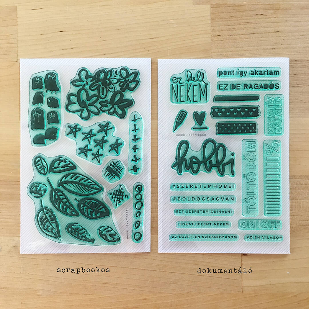 Akrilbélyegző | HOBBI BKK™ Scrapbookos és Dokumentáló