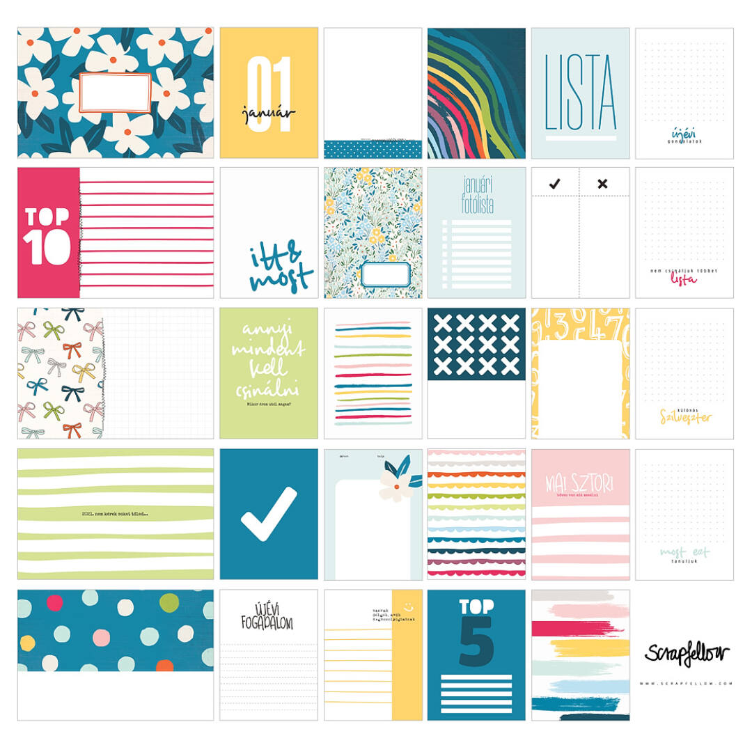 Dokumentáló kártyák - LISTA