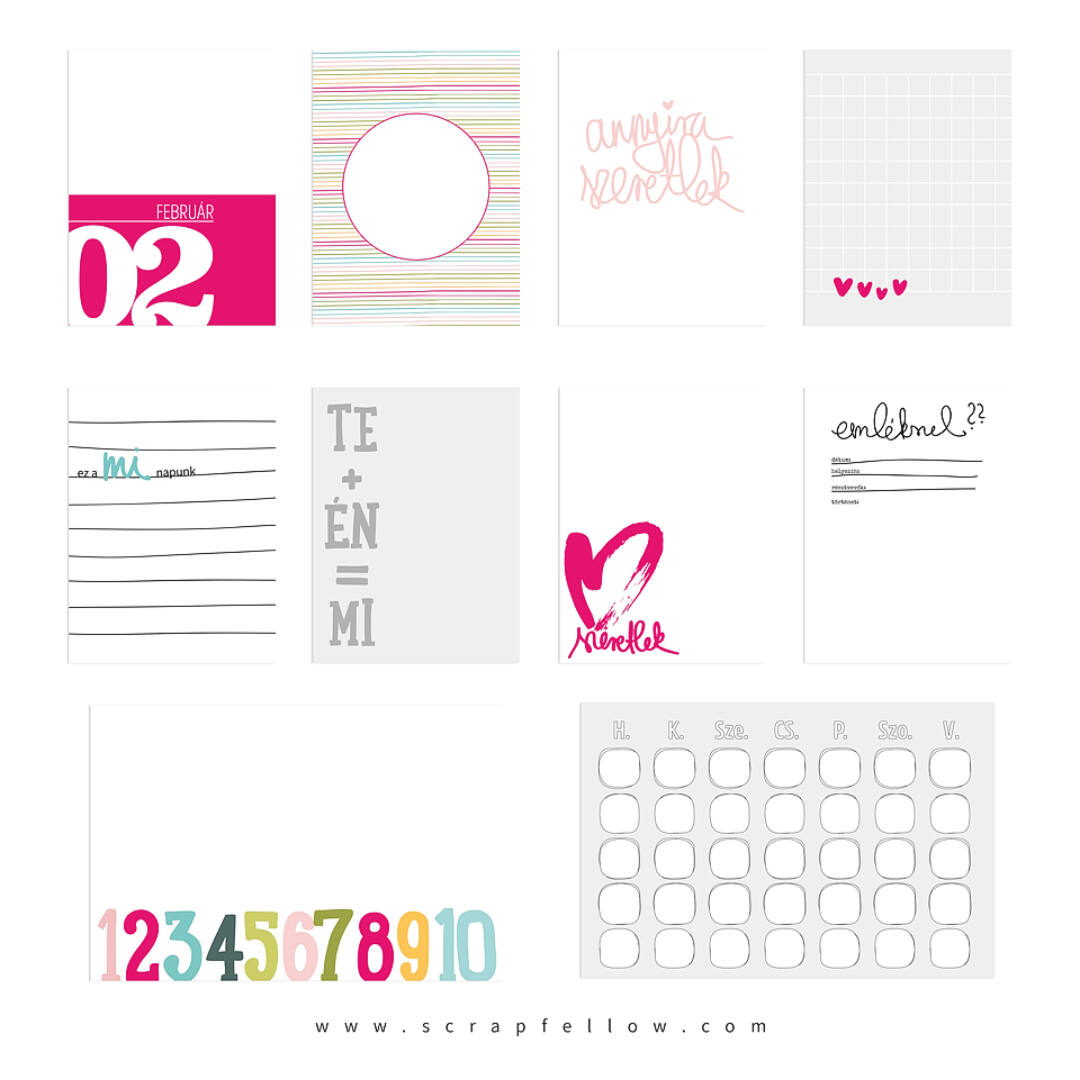 Dokumentáló kártyák - Hello február