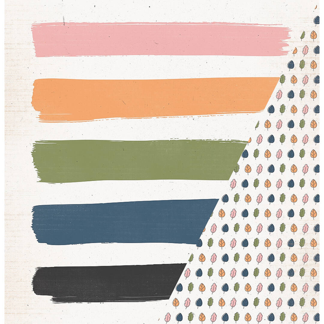 Autumn Crop - 12x12 scrapbook papír