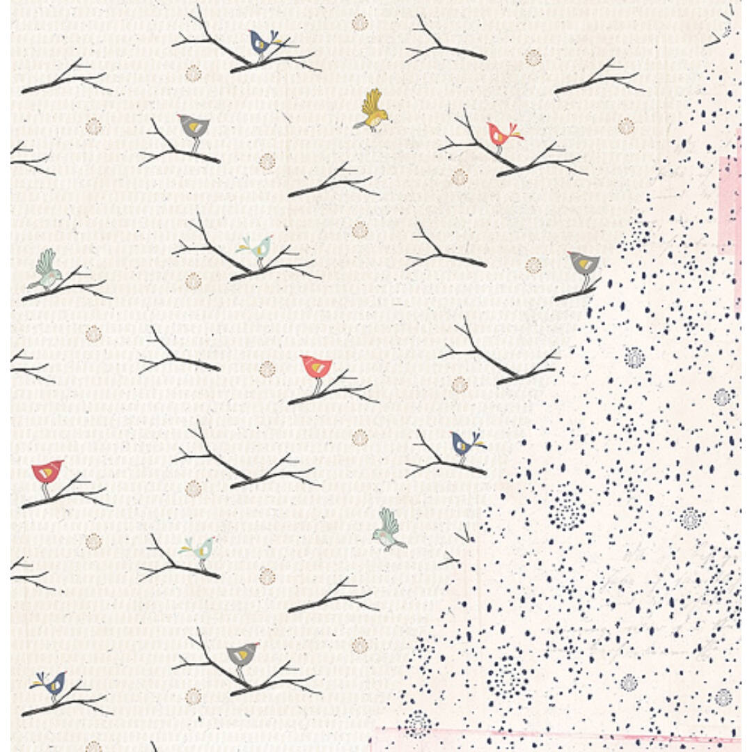 Free Spirit - 12x12 scrapbook papír