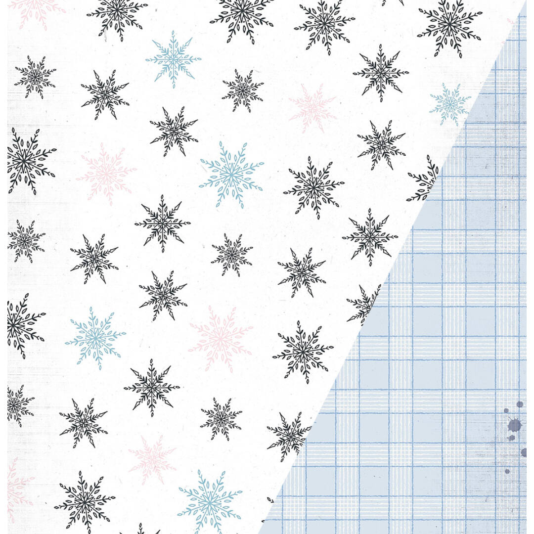 Oh Snow - 12x12 scrapbook papír