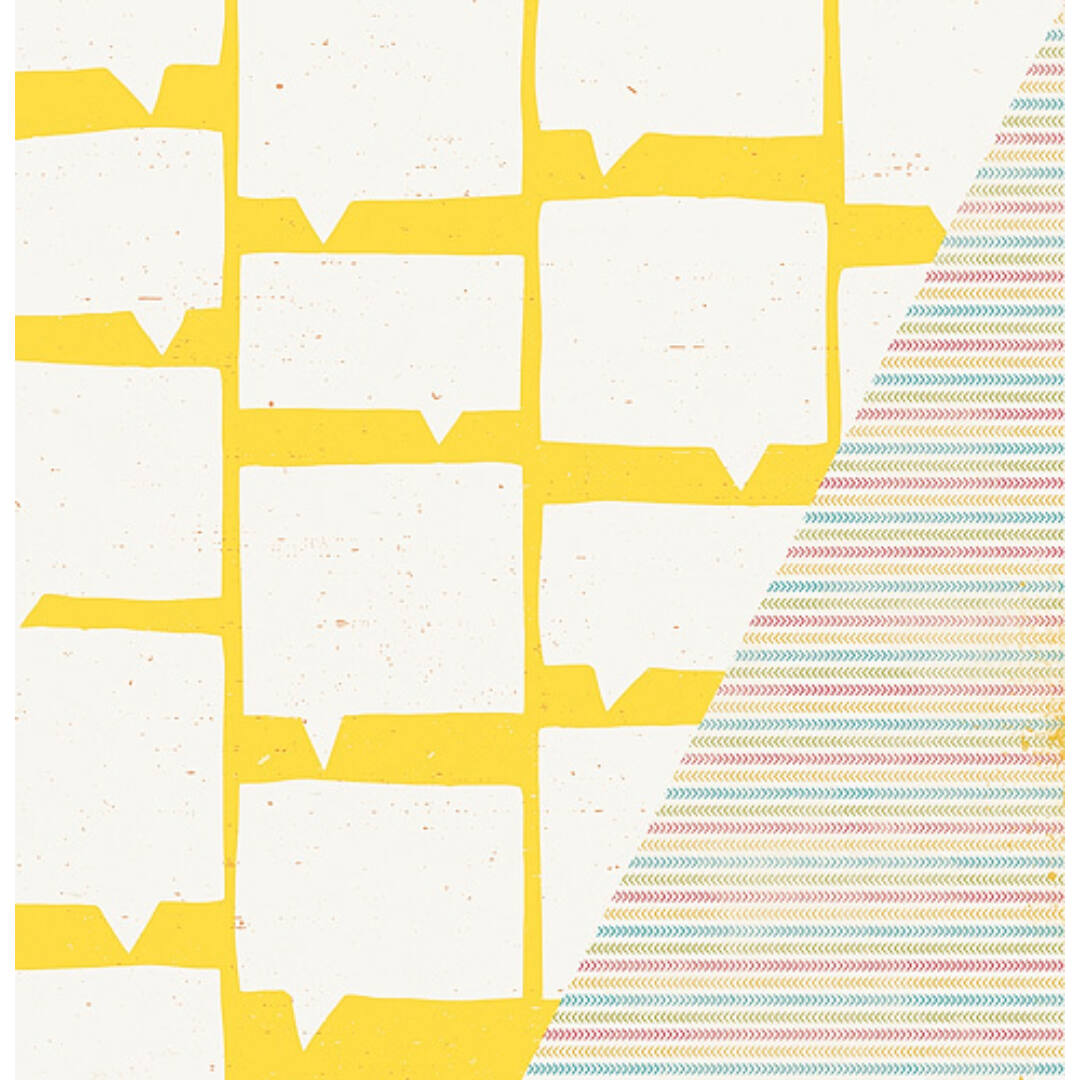 Just Talk - 12x12 scrapbook papír