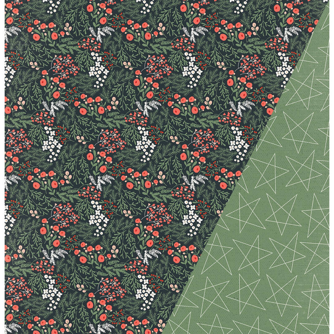 Rich Christmas- 12x12 scrapbook papír