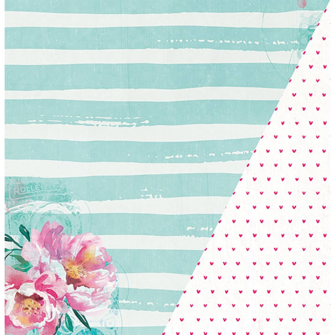 Sincere - 12x12 scrapbook papír