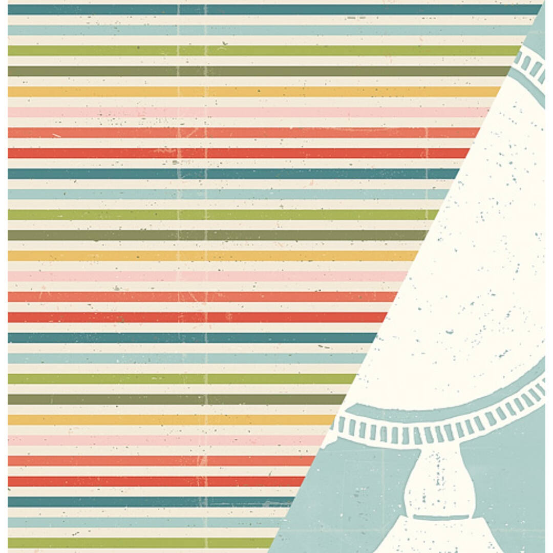 Travelogue - 12x12 scrapbook papír