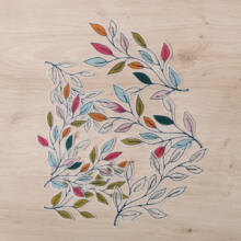 Ágas-bogas színes levelek - Pausz DieCut