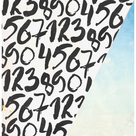 Cloud Nine - 12x12 scrapbook papír